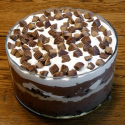 Peanut-Butter-Brownie-Trifle