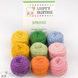 Spring Paintbox The Loopy Ewe