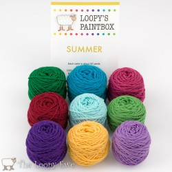 Summer Paintbox The Loopy Ewe
