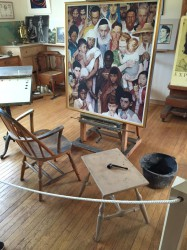 Rockwell painting area