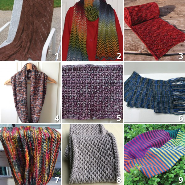 Scarves and Cowls Inspiration - The Loopy Ewe
