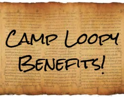 Camp Loopy Benefits