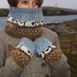 Baa-ble Mittens & Cowl by Donna Smith