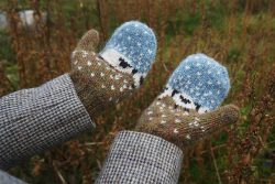 Baa-ble Mittens by Donna Smith