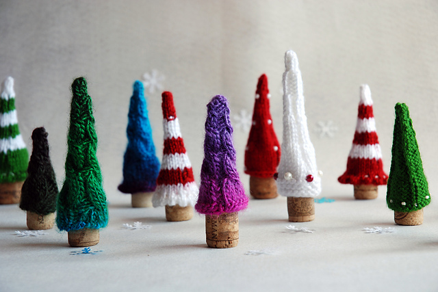 Quick Christmas Gifts: Christmas Trees Fairy Forest by Tatyana Korobkova