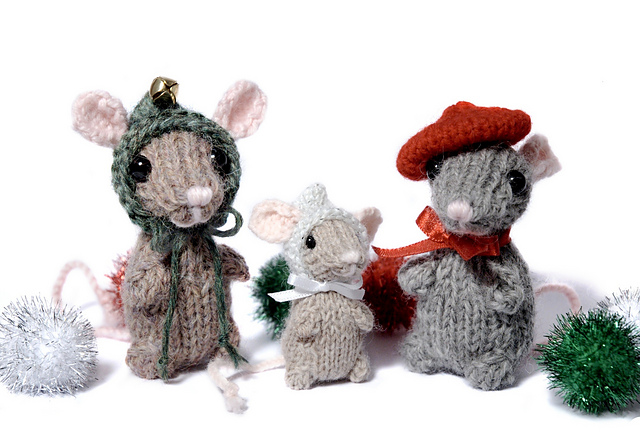 Quick Christmas Gifts: Holiday Mice by Barbara Prime