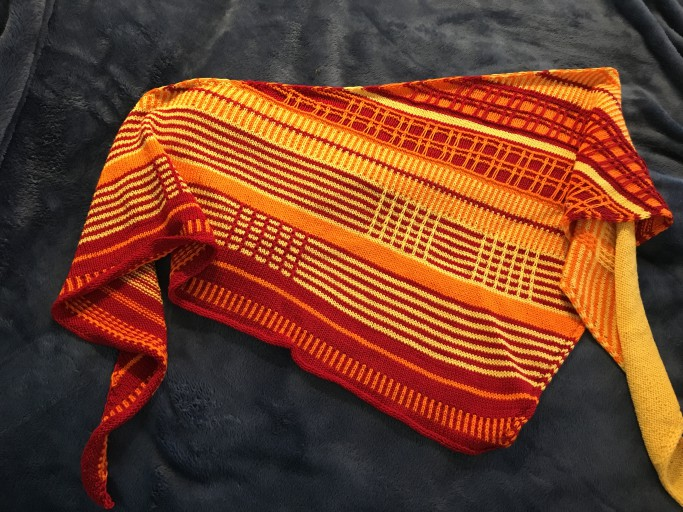 knitting challenge: Plaid is the New Fad