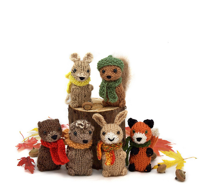 Quick Christmas Gifts: Wee Woodland Wuzzies by Barbara Prime