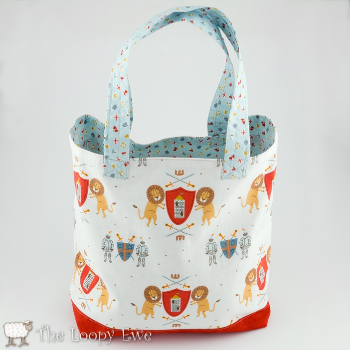 loopy knights tote