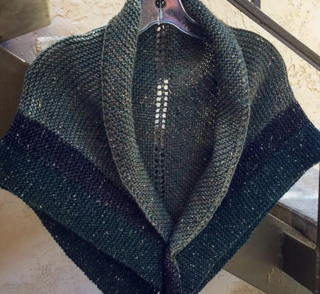 Claire's Rent Shawl by Sandie Russo