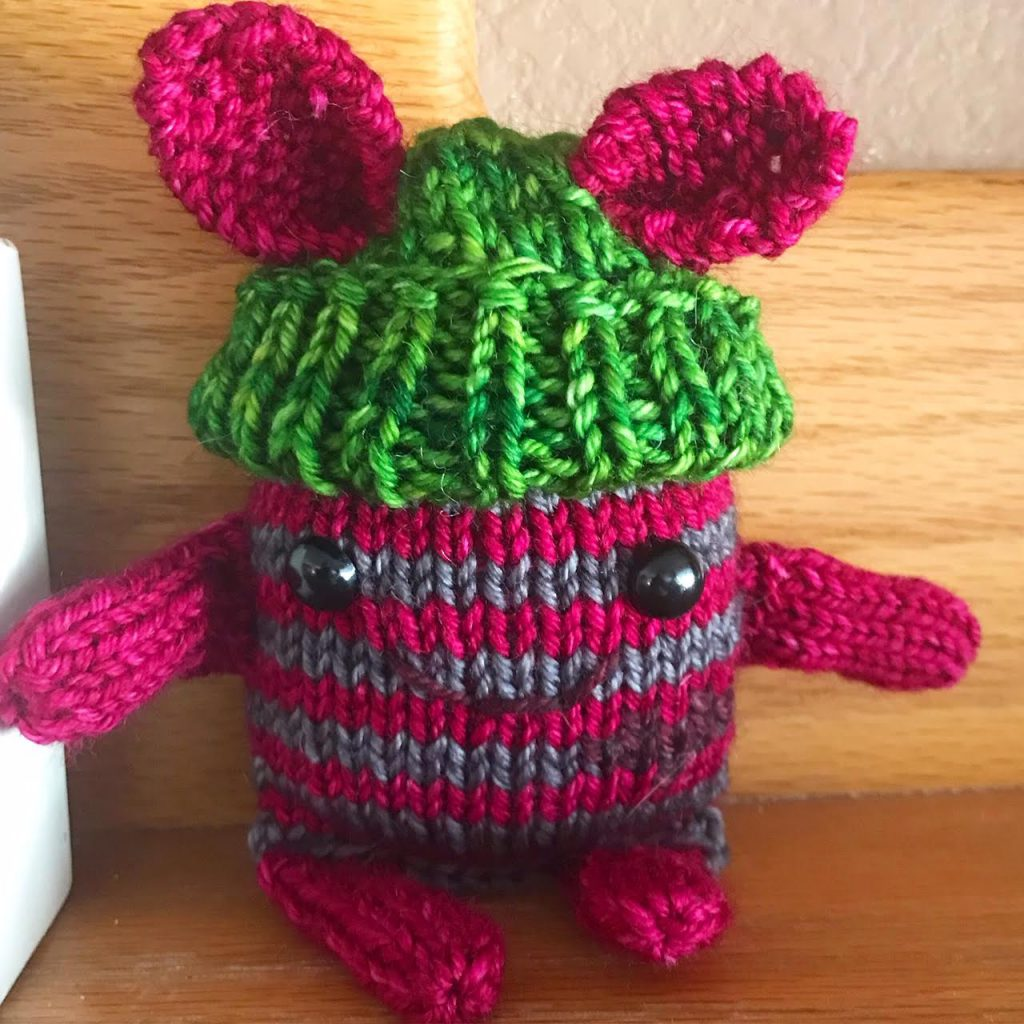 Little Kindness Monster, Cascade 220, The Loopy Ewe