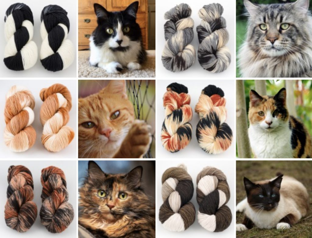 Cats and Yarn Inspiration