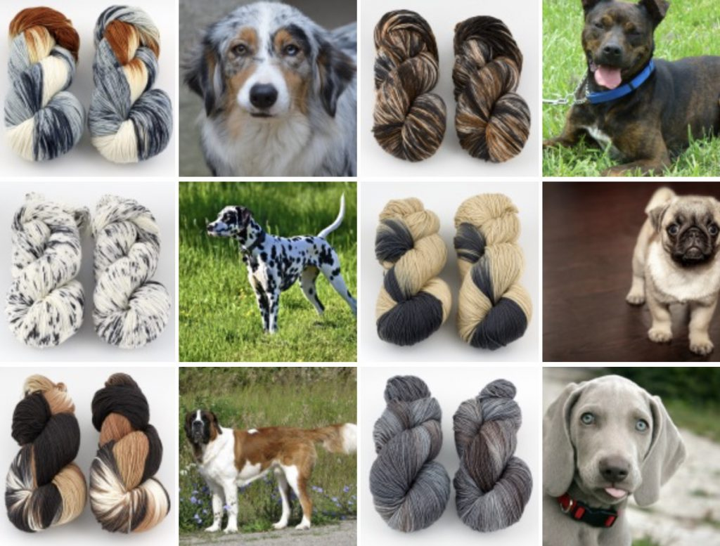 Dogs and Yarn Inspiration