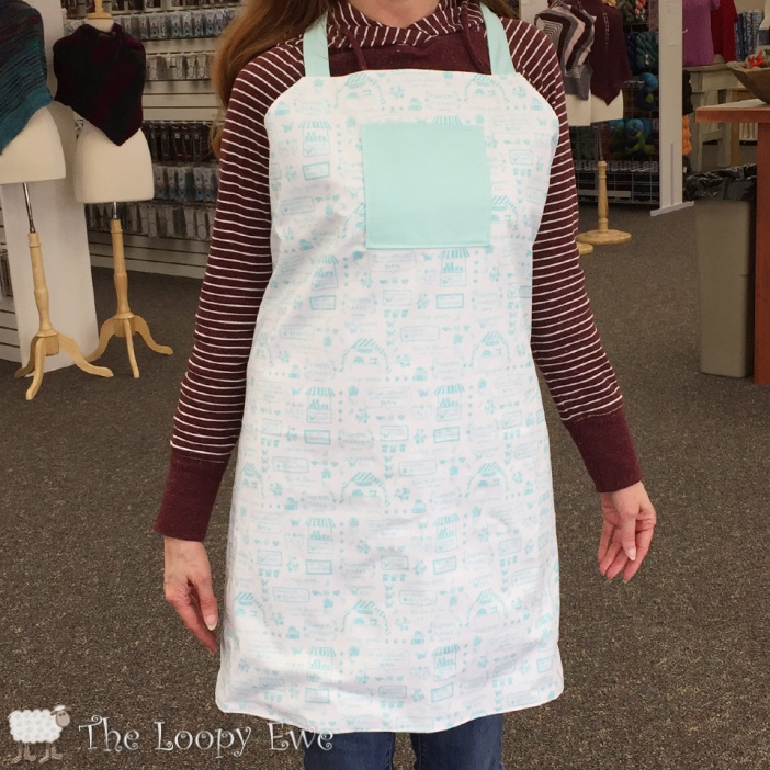 Monthly Kits Twice Baked Apron The Loopy Ewe