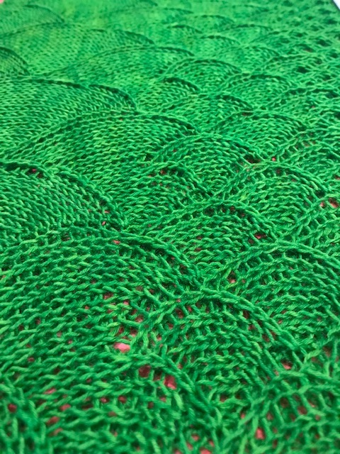 Blocking Knits Song of the Sea Cowl The Loopy Ewe