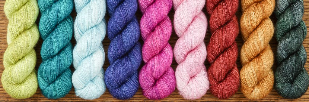 Cashmere Silk Lace at The Loopy Ewe
