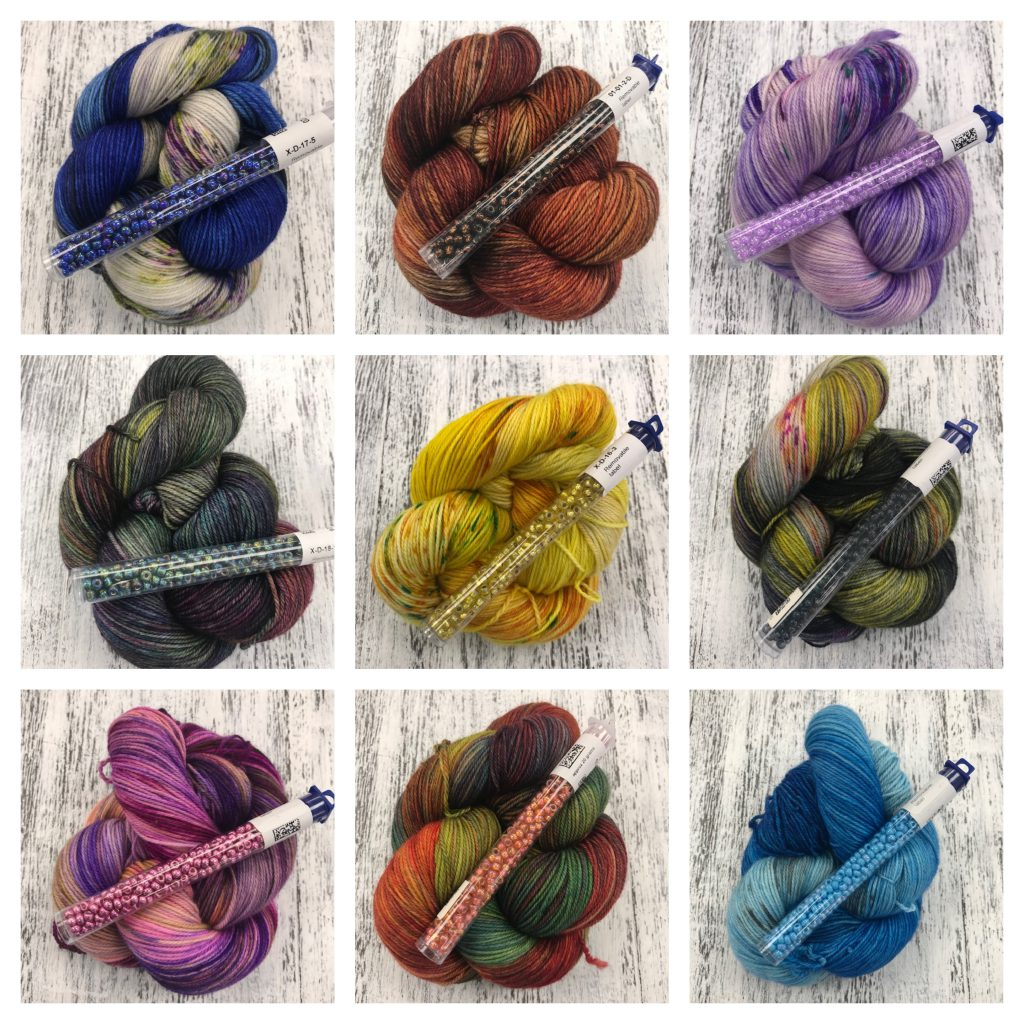 Dream in Color knitting with beads The Loopy Ewe