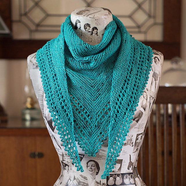 3S Shawl The Loopy Ewe One skein projects