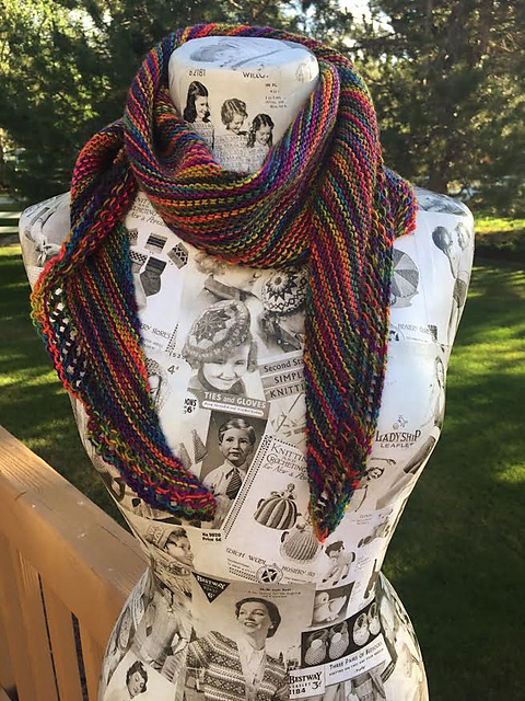 Trillian The Loopy Ewe One skein projects