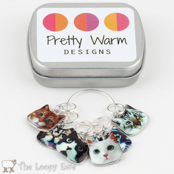 Cat Stitchmarkers © The Loopy Ewe