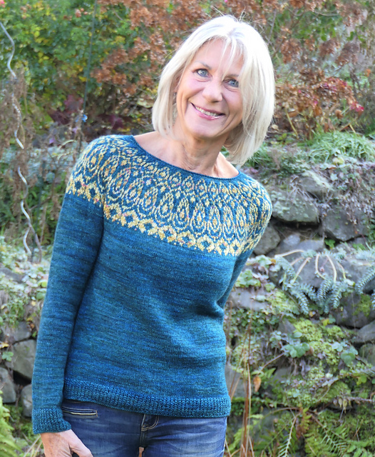 Ambra colorwork sweaters