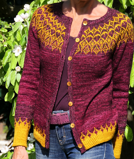 Djamila  colorwork sweaters