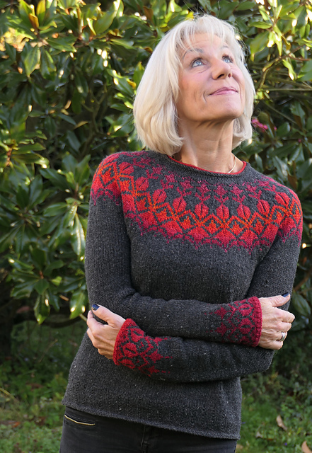Eysa colorwork sweaters