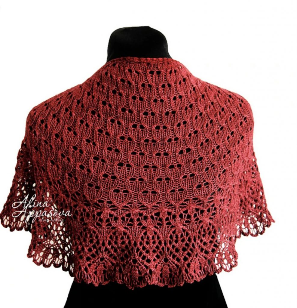 Intenso Lace Shawl