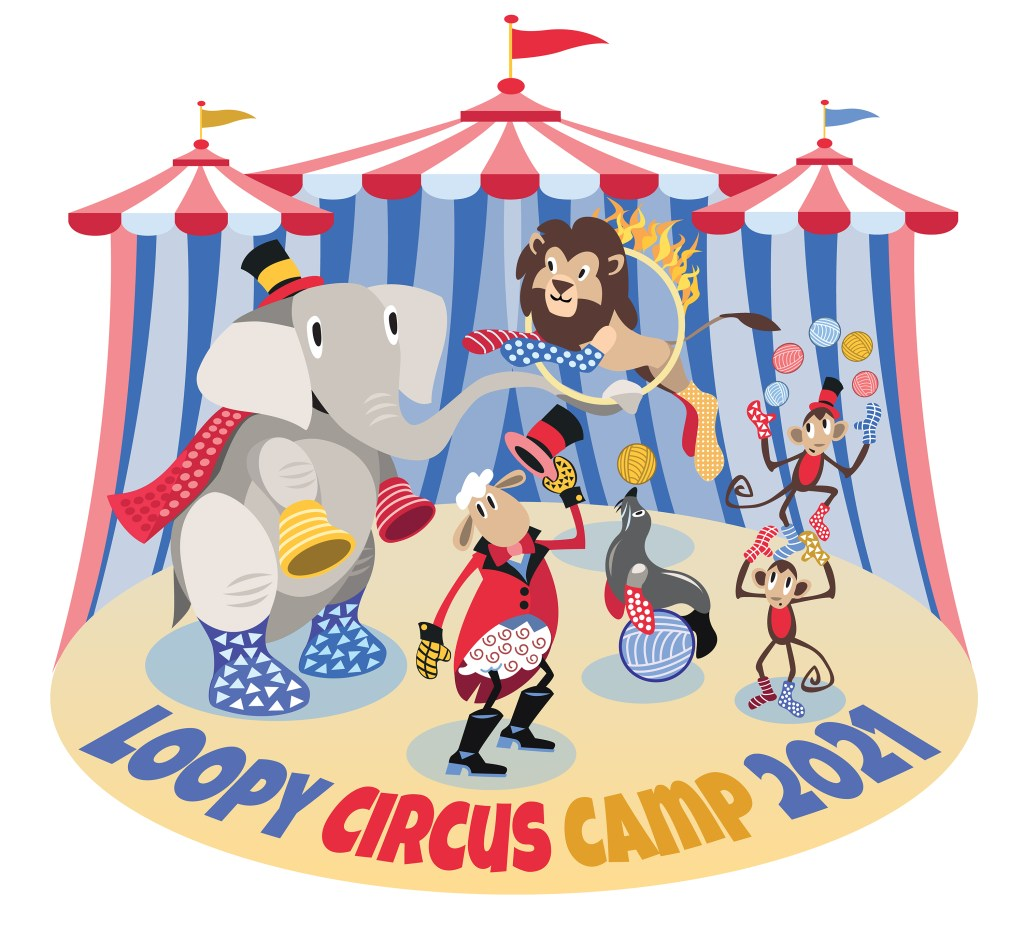 Loopy Circus Camp from The Loopy Ewe