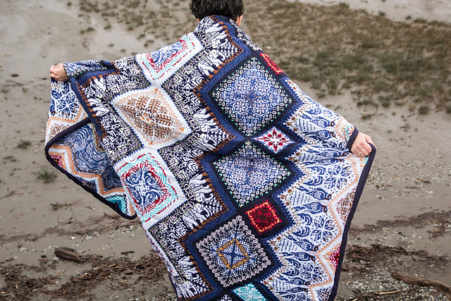 Indian Nights Blanket by Jenise Hope