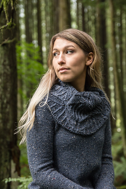 Super Collar Sweater by Jenise Hope